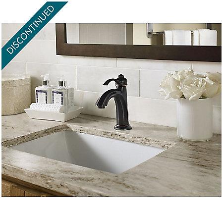 Tuscan Bronze Portola Single Control, Centerset Bath Faucet - GT42-RP0Y - 5