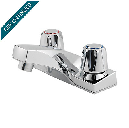 Polished Chrome Pfirst Series Centerset Bath Faucet - G143-5000 - 1