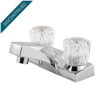 Polished Chrome Pfirst Series Centerset Bath Faucet - G143-6002 - 1
