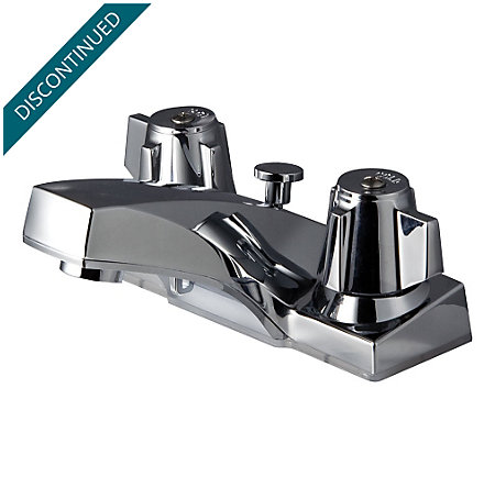 Polished Chrome Pfirst Series Centerset Bath Faucet - G143-6005 - 1