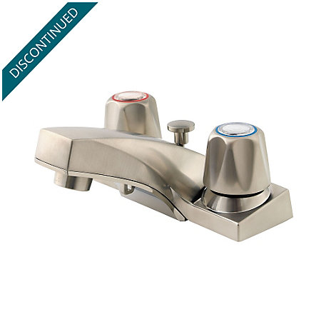 Brushed Nickel Pfirst Series Centerset Bath Faucet - G143-600K - 1