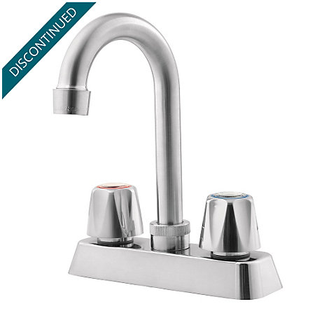 Stainless Steel Pfirst Series  Kitchen Faucet - G171-400S - 1