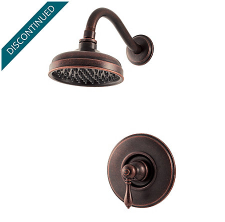 Rustic Bronze Marielle Shower Only - G89-7MBU - 1