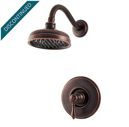 Rustic Bronze Marielle Shower Only - G89-7MBU - 1