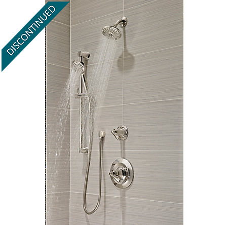 Polished Nickel Iyla 1-Handle Tub & Shower, Trim Only - G89-8TRD - 3