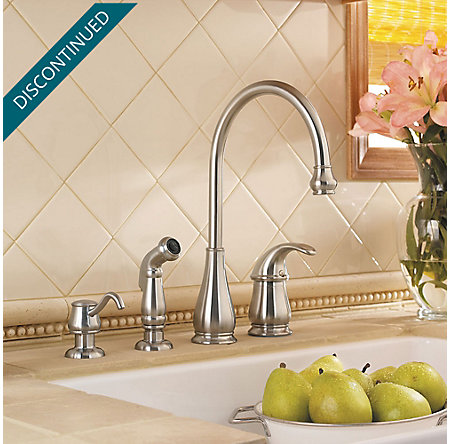 Stainless Steel Treviso 1 Handle Kitchen Faucet Gt26