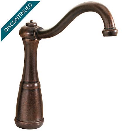 Rustic Bronze Marielle 1-Handle Kitchen Faucet - GT26-4NUU - 2
