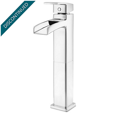 Polished Chrome Kenzo Single Handle Vessel Faucet - GT40-DF0C - 1
