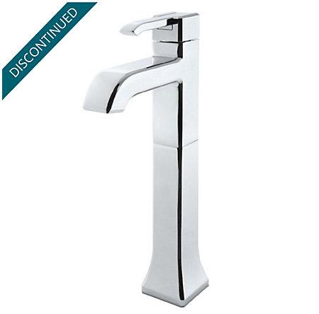 Polished Chrome Park Avenue Single Handle Vessel Faucet - GT40-FE0C - 1