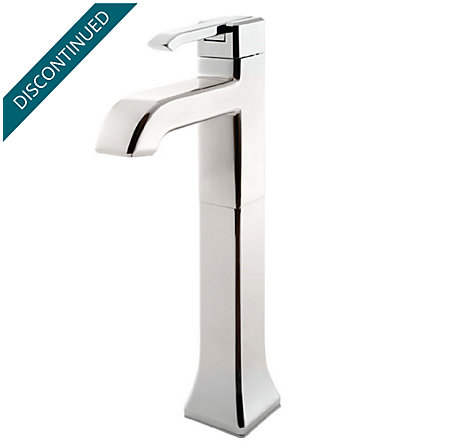 Polished Nickel Park Avenue Single Handle Vessel Faucet - GT40-FE0D - 1
