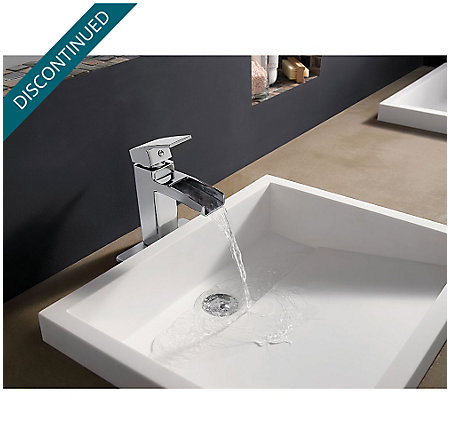 Polished Chrome Kenzo Single Control, Centerset Bath Faucet - GT42-DF0C - 3