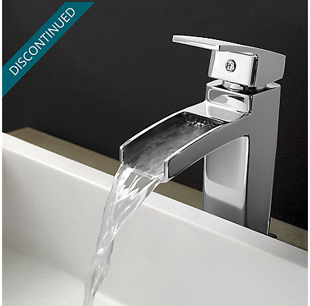 Polished Chrome Kenzo Single Control, Centerset Bath Faucet - GT42-DF0C - 4