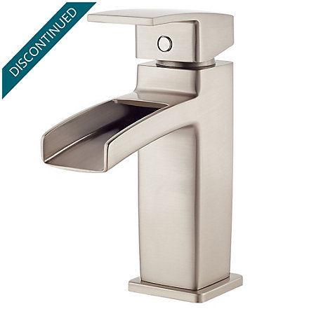 Brushed Nickel Kenzo Single Control, Centerset Bath Faucet - GT42-DF0K - 1