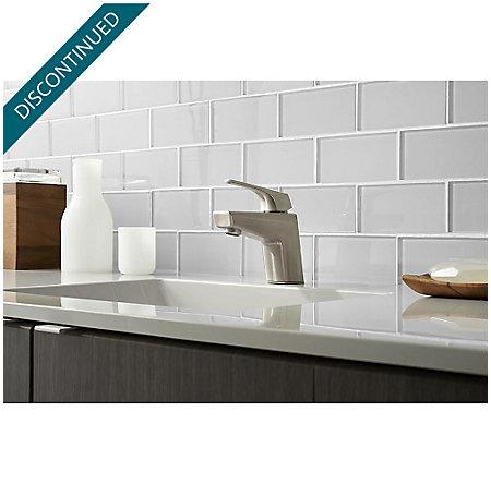 Brushed Nickel Arkitek Single Control Lavatory Faucet - GT42-LPMK - 2
