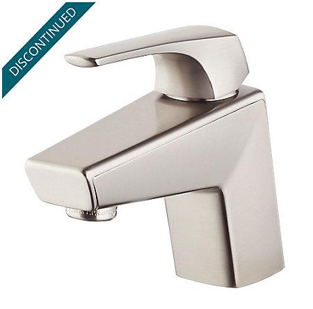 Brushed Nickel Arkitek Single Control Lavatory Faucet - GT42-LPMK - 1