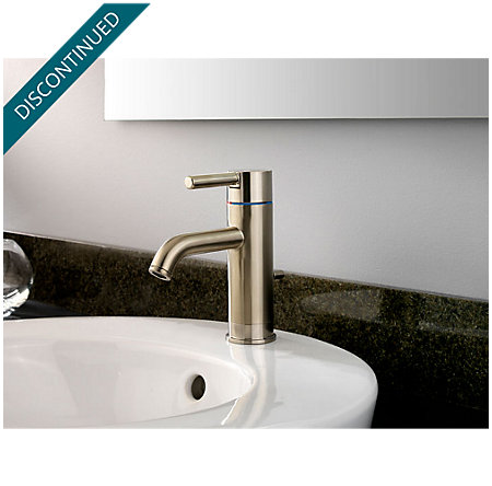 Brushed Nickel Contempra Single Control, Centerset Bath Faucet - GT42-NK00 - 2
