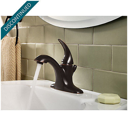 Tuscan Bronze Serrano Single Control Bath Faucet - GT42-SR0Y - 3