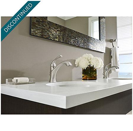 Brushed Nickel Iyla Single Control Bath Faucet - GT42-TR0K - 2