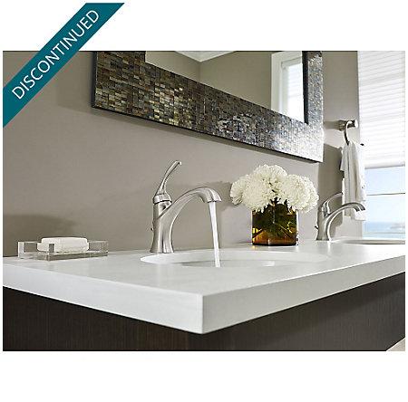 Brushed Nickel Iyla Single Control Bath Faucet - GT42-TR0K - 3
