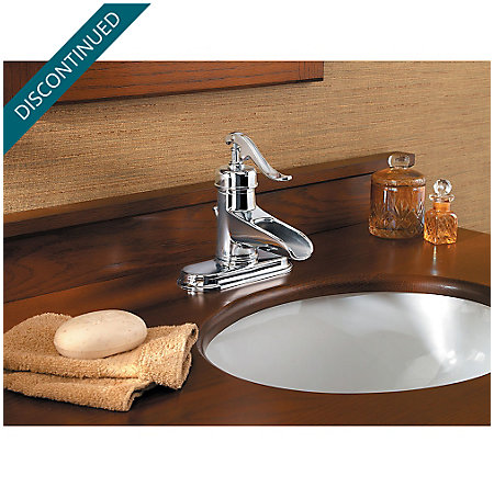 Polished Chrome Ashfield Single Control, Centerset Bath Faucet - GT42-YP0C - 4