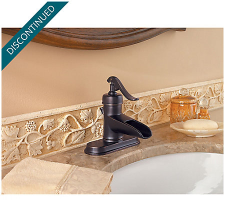 Tuscan Bronze Ashfield Single Control, Centerset Bath Faucet - GT42-YP0Y - 4