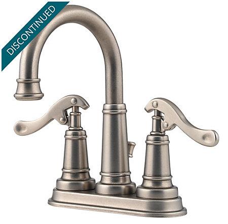 Rustic Pewter Ashfield Centerset Bath Faucet - GT43-YP0E - 1