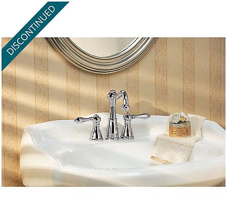 Polished Chrome Marielle Mini-Widespread Bath Faucet - GT46-M0BC - 2