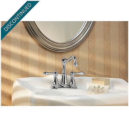 Polished Chrome Marielle Mini-Widespread Bath Faucet - GT46-M0BC - 3