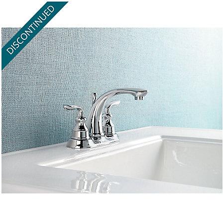Polished Chrome Avalon Centerset Bath Faucet - GT48-CB0C - 2