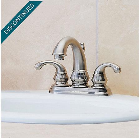 Brushed Nickel Treviso Centerset Bath Faucet - GT48-DK00 - 2