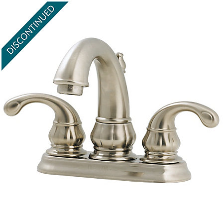 Brushed Nickel Treviso Centerset Bath Faucet - GT48-DK00 - 1