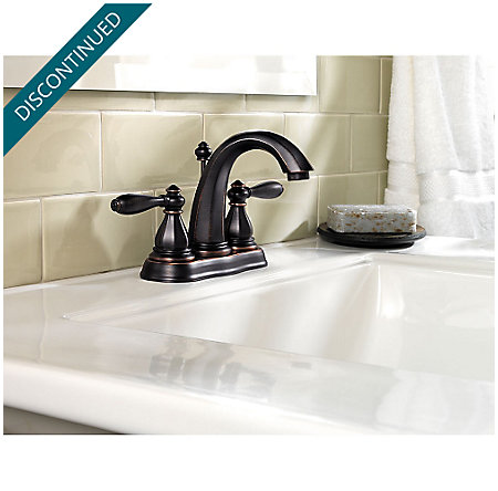 Tuscan Bronze Portola Centerset Bath Faucet - GT48-RP0Y - 2