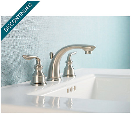 Brushed Nickel Avalon Widespread Bath Faucet - GT49-CB0K - 2