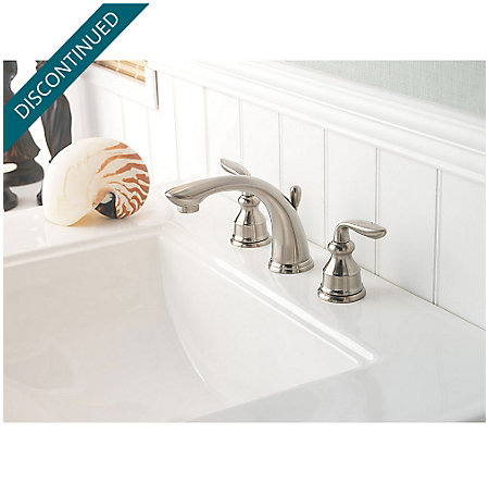 Brushed Nickel Avalon Widespread Bath Faucet - GT49-CB0K - 3