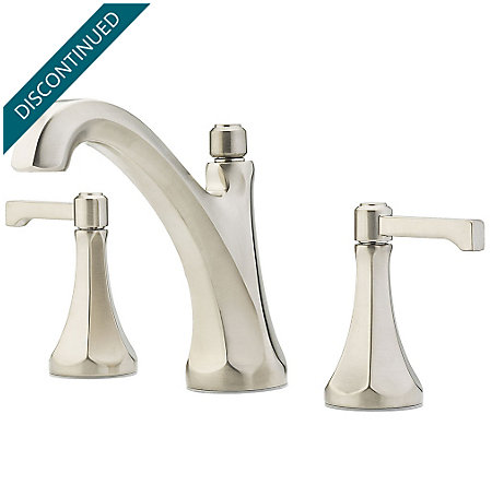 "Brushed Nickel Arterra 8"" Widespread Lavatory Faucet - GT49-DE0K - 1"