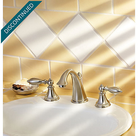 Brushed Nickel Catalina Widespread Bath Faucet - GT49-E0BK - 3