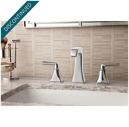 Polished Chrome Park Avenue Widespread Bath Faucet - GT49-FE0C - 2