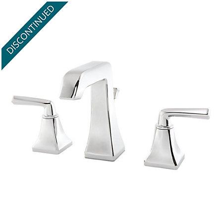 Polished Chrome Park Avenue Widespread Bath Faucet - GT49-FE0C - 1