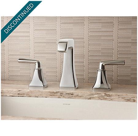 Polished Nickel Park Avenue Widespread Bath Faucet - GT49-FE0D - 2