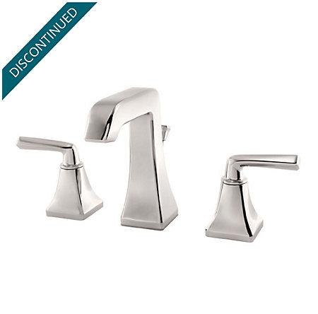 Polished Nickel Park Avenue Widespread Bath Faucet - GT49-FE0D - 1