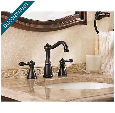 Tuscan Bronze Marielle Widespread Bath Faucet - GT49-M0BY - 2