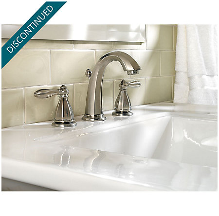 Brushed Nickel Portola Widespread Bath Faucet - GT49-RP0K - 2