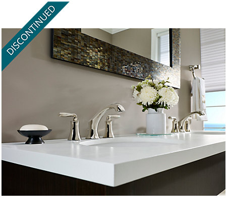 Polished Nickel Iyla Widespread Bath Faucet - GT49-TR0D - 2