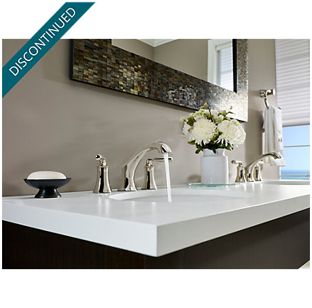 Polished Nickel Iyla Widespread Bath Faucet - GT49-TR0D - 3
