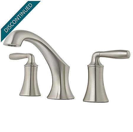 Brushed Nickel Iyla Widespread Bath Faucet - GT49-TR0K - 1