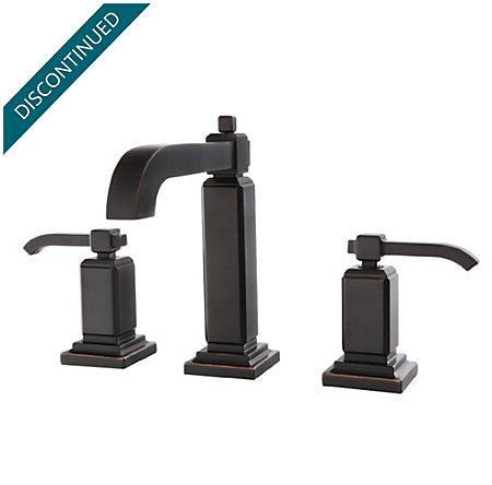 Tuscan Bronze Carnegie Widespread Bath Faucet - GT49-WE0Y - 1