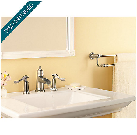 Brushed Nickel Ashfield Widespread Bath Faucet - GT49-YP1K - 3