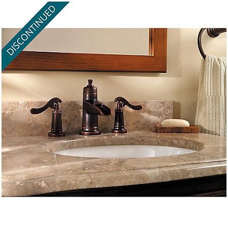 Rustic Bronze Ashfield Widespread Bath Faucet - GT49-YP1U - 2