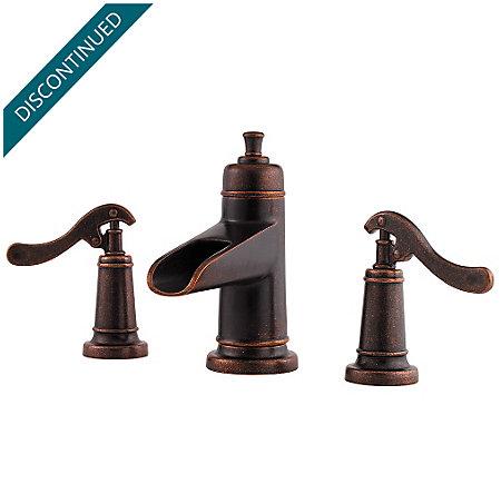 Rustic Bronze Ashfield Widespread Bath Faucet - GT49-YP1U - 1