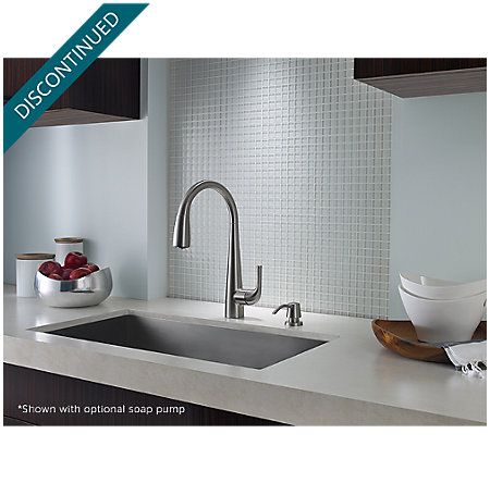 Stainless Steel Alea Pull-Down Kitchen Faucet - GT529-ALS - 3